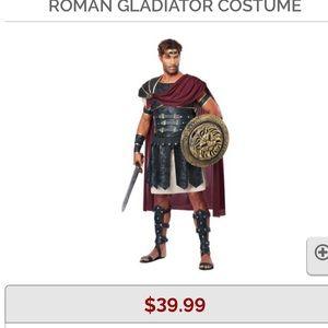 Men's gladiator costume size large